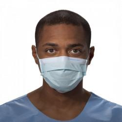 Медицинская маска, синяя