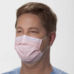 Медицинская маска, фиолетовая