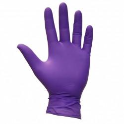Фиолетовые перчатки Нитрил L